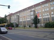 Fahnenbilder - Güntzstraße 28, Projekt im öffentlichen Stadtraum, Dresden, 2006
