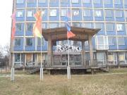"""Fahnenbilder """"blaues Haus"""" 2007"""