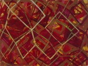 03/7 Acryl, Öl auf LW, 2003, 135 x 180 cm (Franz-Josef)