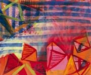 04 04-11, Acryl, Öl auf Leinwand, 2004, 130 x 160 cm
