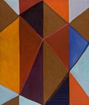10/6, Fettkreide, Acryl, Öl auf LW, 2010, 160 x 135 cm