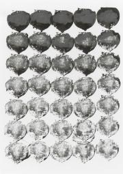 Mairübe 27.5.16 V, Tusche auf Papier, 41,7 x 29,6 cm