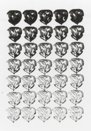Mairübe 31.5.16 VIII, Tusche auf Papier, 41,7 x 29,6 cm