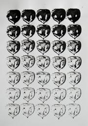 Mairübe, 29.5.16 VIII, Tusche auf Papier, 41,7 x 29,6 cm