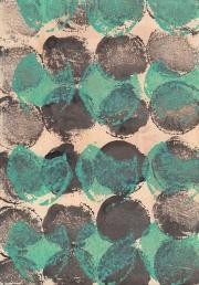 Navette, 28.2.17 VII, Acryl, Tusche, Öl auf Papier, 29,7 x 21 cm