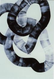 Öl auf Papier, 2000, 63 x 44 cm