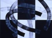 Öl auf Papier, 2000,  44 x 63 cm