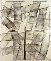 06/16,  Öl auf LW, 2006, 160 x 135 cm